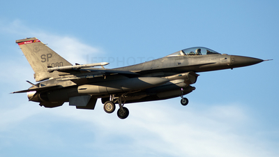 96-0080 - General Dynamics F-16C Fighting Falcon - United States - US Air Force (USAF)