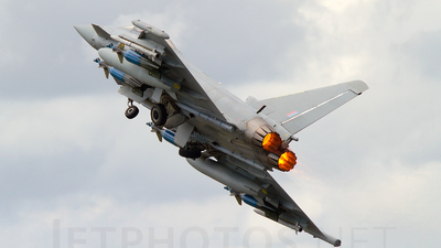 ZJ700 - Eurofighter Typhoon F.2 - United Kingdom - Royal Air Force (RAF)