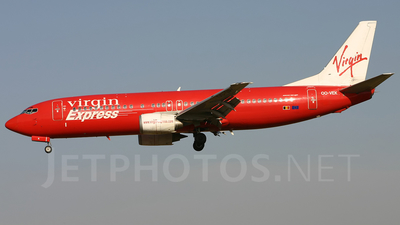 OO-VEK - Boeing 737-405 - Virgin Express