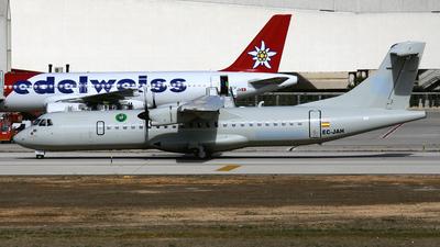 A picture of ECJAH - ATR 72500 - [0712] - © Javier Rodriguez - Amics de Son Sant Joan