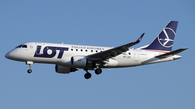 SP-LDD - Embraer 170-100STD - LOT Polish Airlines