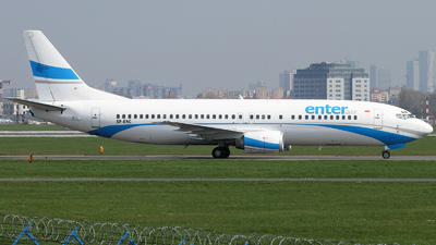 SP-ENC - Boeing 737-4Q8 - Enter Air