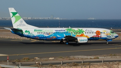 EC-INQ - Boeing 737-4Q8 - Binter Canarias (Futura International Airways)