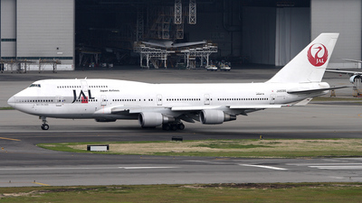 JA8086 - Boeing 747-446 - Japan Airlines (JAL)
