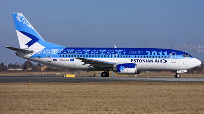 ES-ABJ - Boeing 737-33R - Estonian Air