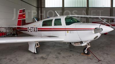 D-ETAX - Mooney M20J-201 - Private