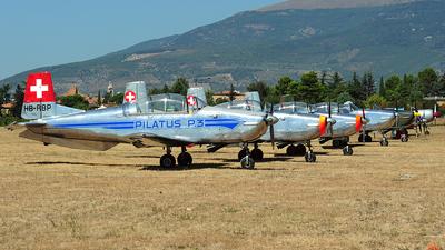 HB-RBP - Pilatus P-3-05 - P3 Flyers Ticino