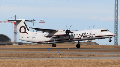 N409QX - Bombardier Dash 8-Q401 - Horizon Air