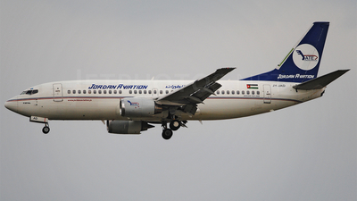 JY-JAD - Boeing 737-322 - Jordan Aviation
