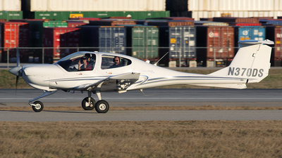 N370DS - Diamond DA-40 Diamond Star XLS - Private