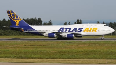 N465MC - Boeing 747-446 - Atlas Air