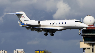 A picture of N448CL - Bombardier Challenger 300 - [20027] - © Alessandro Garau