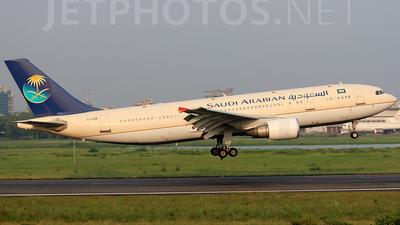 TC-OAB - Airbus A300B4-605R - Saudi Arabian Airlines (Onur Air)