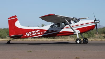 A picture of N23CC - Cessna A185E - [1851236] - © Kevin Porter
