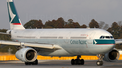 B-LAB - Airbus A330-343 - Cathay Pacific Airways