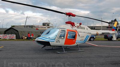 A picture of FAC4470 - Bell 206B3 JetRanger -  - © Felipe Betancur Montoya