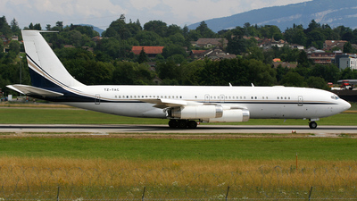 TZ-TAC - Boeing 707-3L6B - Mali - Government