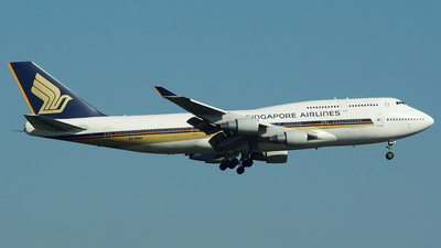 9V-SMU - Boeing 747-412 - Singapore Airlines