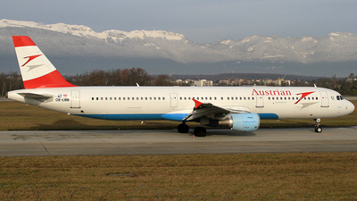 OE-LBB - Airbus A321-111 - Austrian Airlines (Tyrolean Airways)