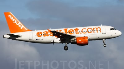 G-EZDL - Airbus A319-111 - easyJet