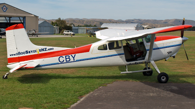 ZK-CBY - Cessna 185A Skywagon - Skydive New Zealand