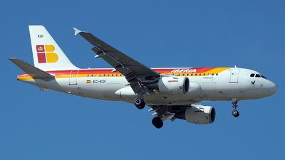EC-KDI - Airbus A319-111 - Iberia