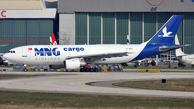 TC-MNJ - Airbus A300B4-203(F) - MNG Airlines