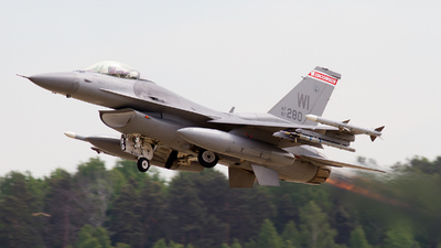 87-0280 - General Dynamics F-16C Fighting Falcon - United States - US Air Force (USAF)