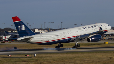 N287AY - Airbus A330-243 - US Airways