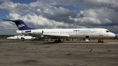 ZS-ERI - Fokker 100 - Alpi Eagles