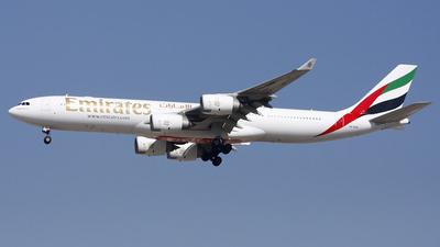 A6-ERH - Airbus A340-541 - Emirates