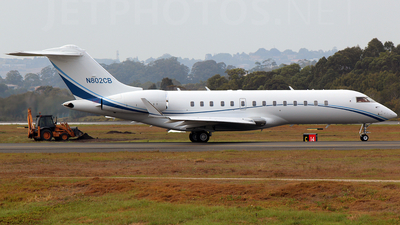 N802CB - Bombardier BD-700-1A10 Global Express - Private