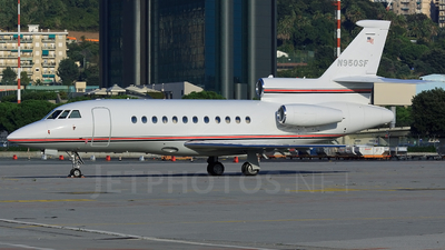 N950SF - Dassault Falcon 900 - Private