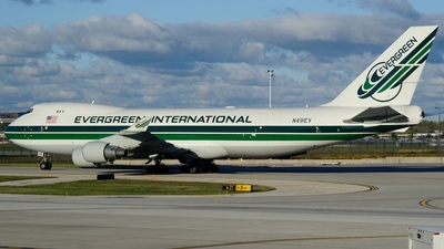 N491EV - Boeing 747-412F(SCD) - Evergreen International Airlines