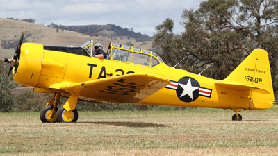 VH-YVI - North American T-6G Texan - Private