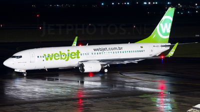 PR-GTJ - Boeing 737-8EH - WebJet Linhas Aéreas