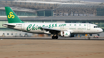 B-6863 - Airbus A320-214 - Spring Airlines