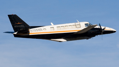 N195WA - Beech 99 Airliner - Wiggins Airways