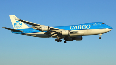 PH-CKD - Boeing 747-406ERF - KLM Cargo