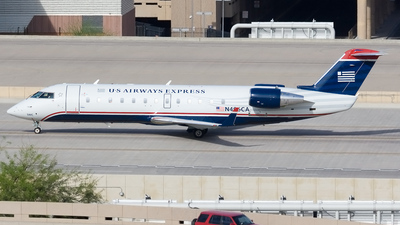 N496CA - Bombardier CRJ-200ER - US Airways Express (SkyWest Airlines)
