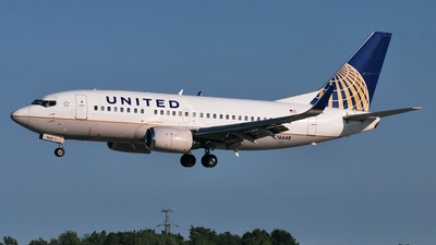 N16648 - Boeing 737-524 - United Airlines (Continental Airlines)