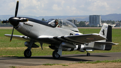 ZK-DBG - Titan T-51 Mustang - Private