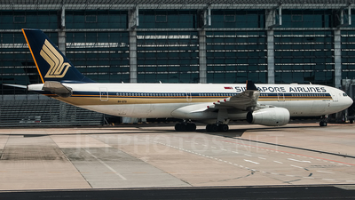 9V-STG - Airbus A330-343 - Singapore Airlines