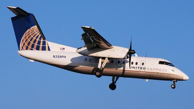 A picture of N359PH - De Havilland Canada Dash 8200 - [514] - © DJ Reed - OPShots Photo Team