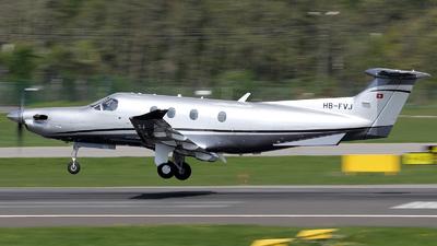 A picture of HBFVJ - Pilatus PC12/47 - [865] - © Maciek Zachara