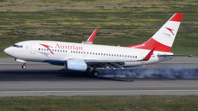 OE-LNO - Boeing 737-7Z9 - Austrian Airlines