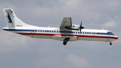 N417AT - ATR 72-212 - American Eagle (Executive Airlines)