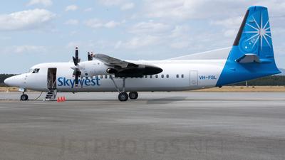 VH-FSL - Fokker 50 - SkyWest Airlines