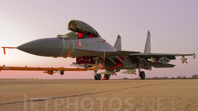 SB023 - Sukhoi Su-30MKI - India - Air Force