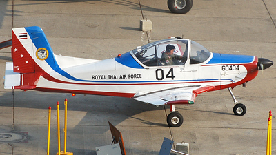 F16-04/17 - New Zealand Aerospace CT-4A Airtrainer - Thailand - Royal Thai Air Force